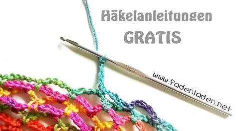 Anleitungen GRATIS - Häkelanleitungen - Fadenladen - einzigartig ...