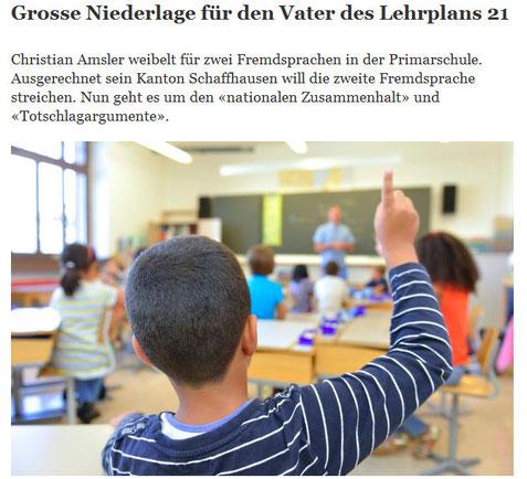 Quelle: Tages Anzeiger. 19.02.2014
