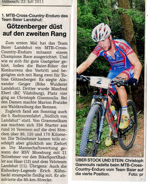 Quelle: Landshuter Zeitung 22.07.2015