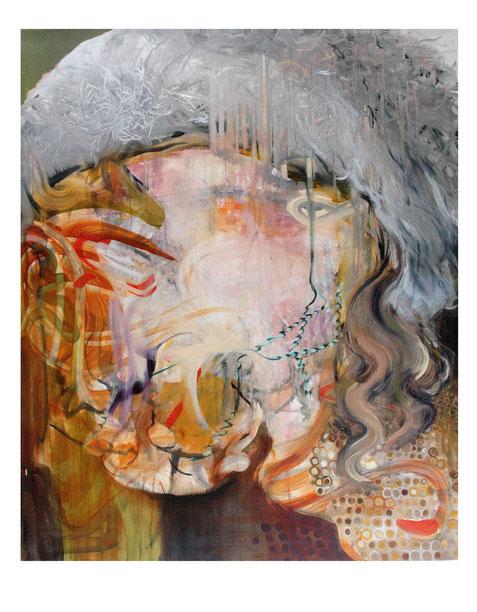 Der Sammlerin-            -Oil on canvas-     -2012-     -140x115cm