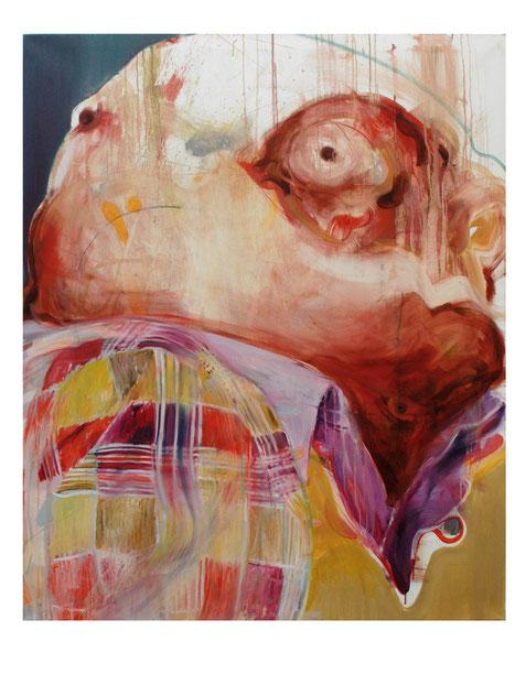 Der Sammler-             -Oil on canvas-     -2012-     -140x115cm