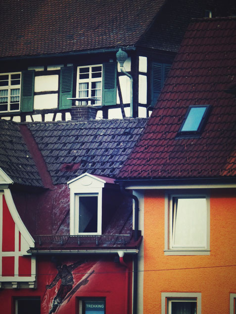 triberg maison couleur village allemagne