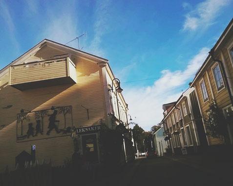 roslagen suède bigousteppes village rue norrtalje