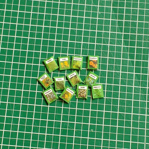 Printies Miniatur-Samentütchen