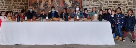 Nous nous sommes invités à la table du seigneur...