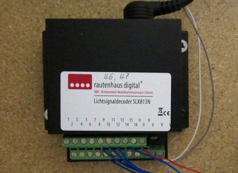 Rautenhaus Lichtsignal-Decoder SLX813N (0582)