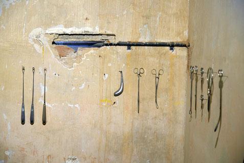 Zwei kleine Arrestzellen waren auf der Festung Ehrenbreitstein die perfekte Unterkunft für die Installation