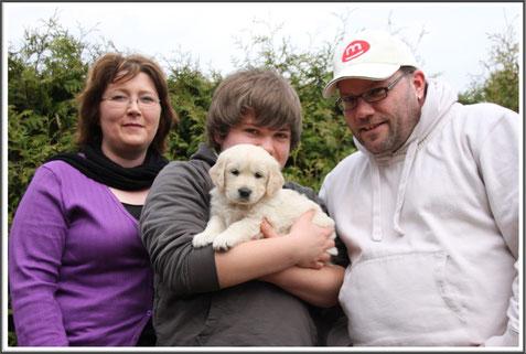 Familie Peters mit Bogard