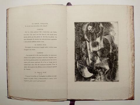 Max Jacob & Picasso, Le siège de Jérusalem, éd. Kahnweiler, 1914, 106 ex.