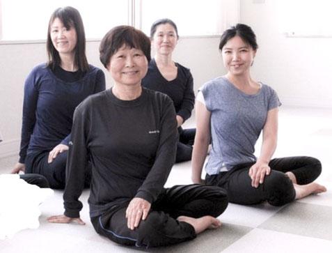 ヨガ、ヨーガ、中高年 瞑想、健康 呼吸法