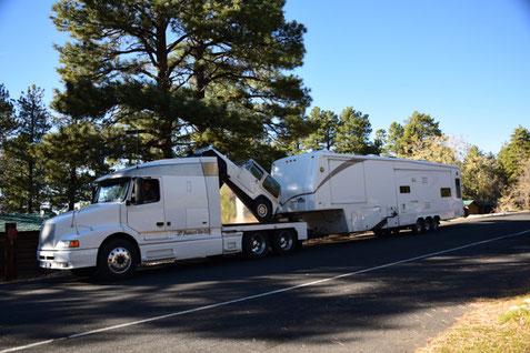 Big Trailer North Rim Grand Canyon