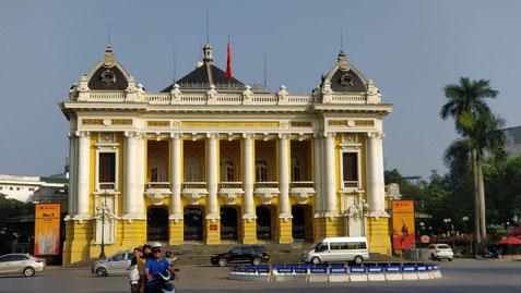 L'opéra Garnier de Hanoï