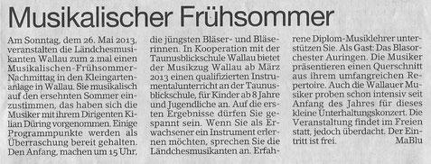 Erbenheimer Anzeiger 24.05.2013