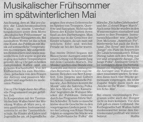 Erbenheimer Anzeiger 31.5.2013