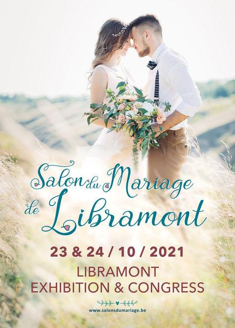 Salon du Mariage de Libramont 23 et 24 Octobre 2021