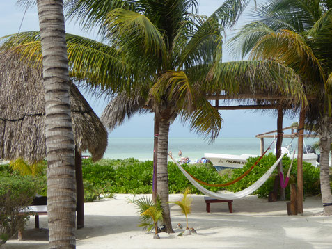 La ville de Playa del Carmen est touristique, mais pas trop grande. Ici on voit une photo de Holbox.