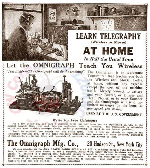 Omnigraph 15 disks advertising