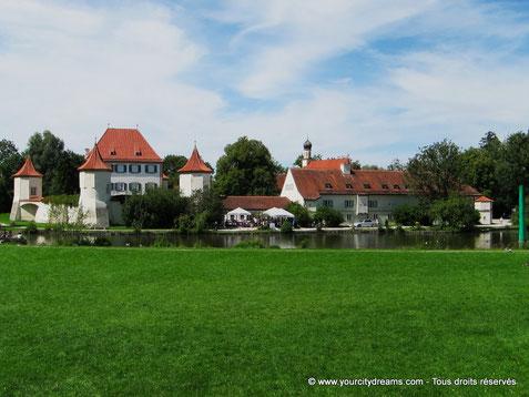 Tourisme - Balade en vélo (électrique) à travers Munich - la château de Blutenburg