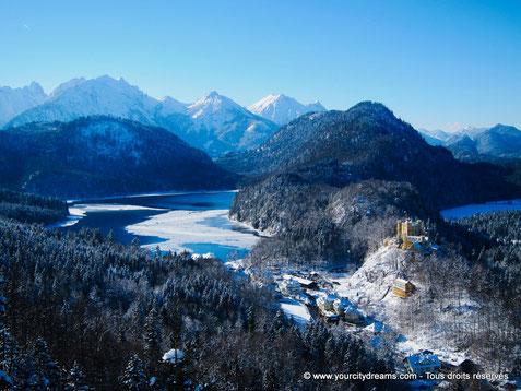 Voyage - Circuits touristiques de 3 jours à Munich - visitez le centre ville, les châteaux et profitez des Biergarten