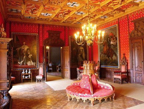 Interieur kasteel Sychrov