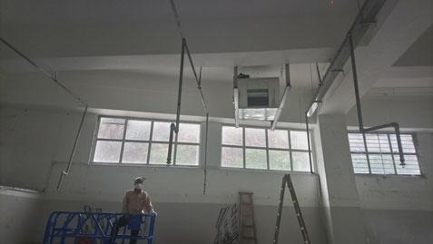 興建本地啤酒廠工程, 食品工場出牌 air duct ventilation system HK