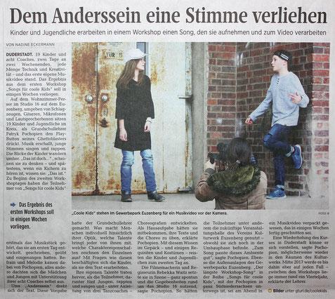 Göttinger Tageblatt vom 03.11.2016