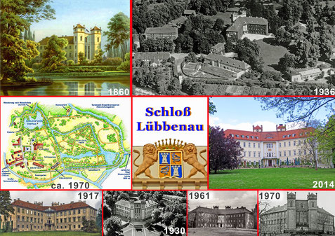 Das Schloß Lübbenau im Spreewald