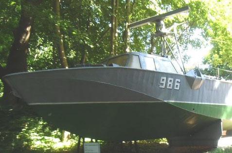 Das Boot 986 im Marinemuseum Dänholm - Bild: M. Thiel