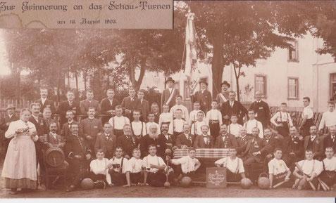 Bild: Teichler Wünschendorf Erzgebirge Turnverein 1903