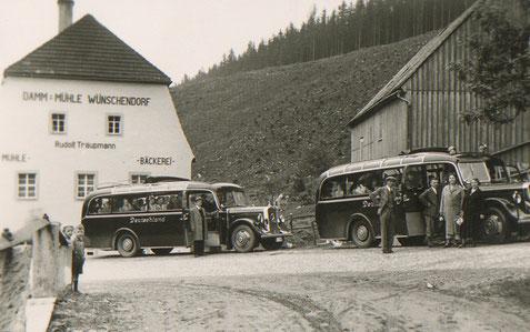 Bild: Teichler Wünschendorf Erzgebirge  Damm-Mühle Wünschendorf