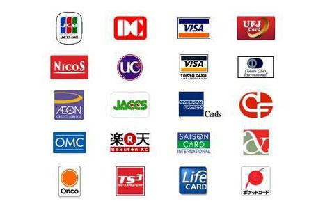 JDC 取り扱いクレジットカード