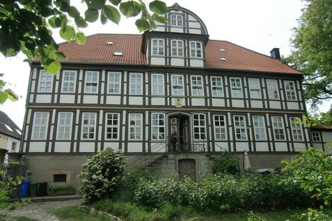 Das Gutshaus Elze der Familie Bock von Wülfingen