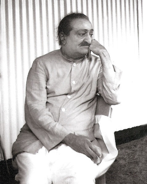 13.   Meher Baba at Avatar's Abode - Photographed by Colin Adams, courtesy of Avatar's Abode Archives