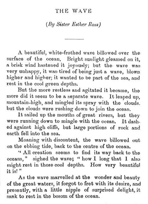 Courtesy of Meher Message magazine ; Vol.2 - No.1 - 1930 - p.33