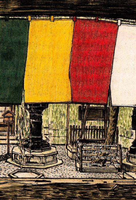 六角堂の初夢