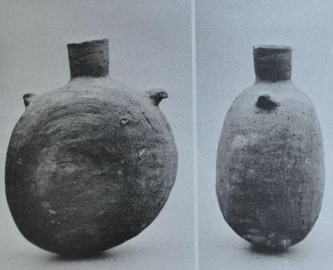 1号墳より出土の堤瓶