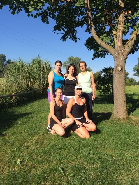 Damen 2014 - Anna Paulic, Alexandra Eder, Andrea Maurer, Patricia Jakob, Nicole Kuhn