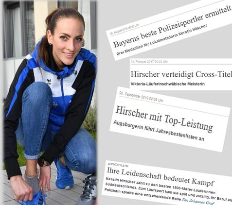 Frau, Leichtathletin, 1.500 Meter, Deutsche Leichtathletik Meisterschaft, Kerstin Hirscher