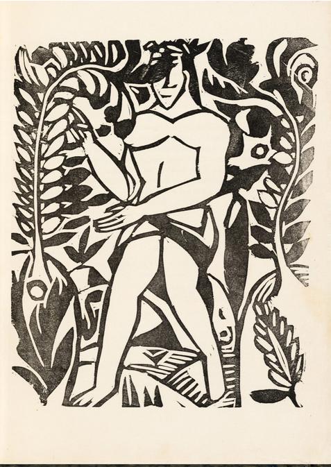 Derain & Apollinaire, L'enchanteur pourrissant, éd. Kahnweiler, 1909, 106 ex.