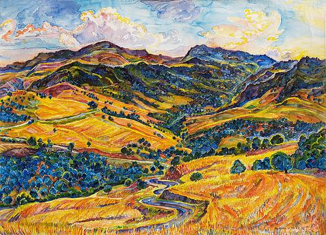 The Mahouna massif, 1992