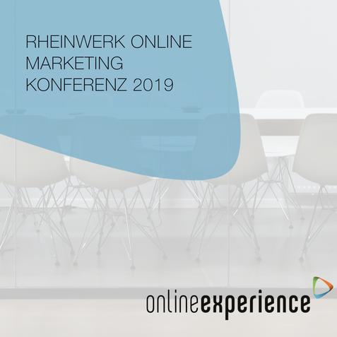 Rheinwerk Online Marketing Konferenz 2019