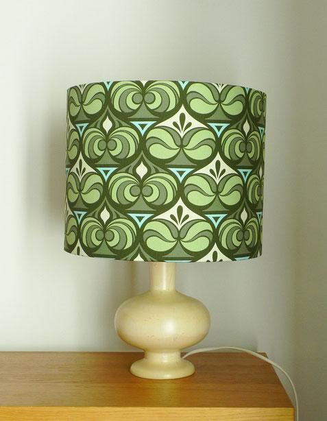 JOLI, lampe à poser vintage, lampe bois