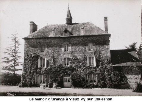 manoir d'Orange Vieux-Vy-sur-Couesnon