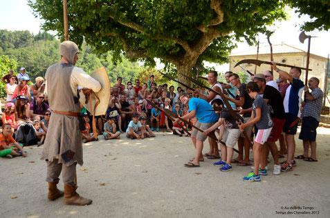 Le temps des chevaliers au château de Largentière