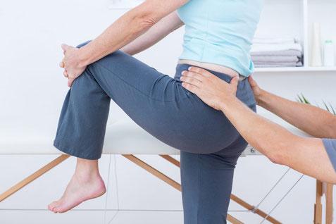 Physiotherapie hilft bei Hüftschmerzen