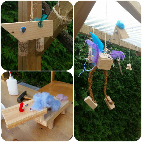 Kinderkunst Arbeiten Mit Holz Atelier Rita Neyer