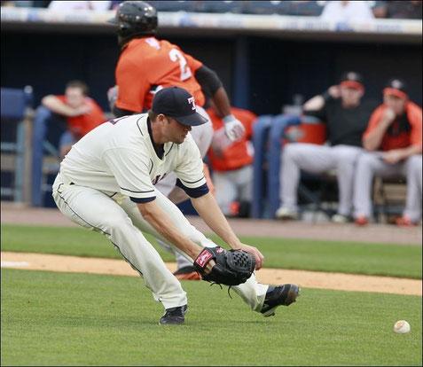 Come un lanciatore arriva sulla palla probabilmente determina la buona o meno esecuzione del gioco