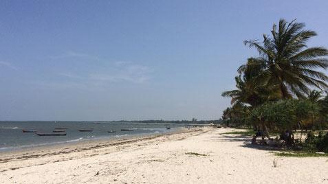 Strand nördlich des Ortszentrums