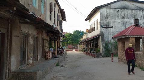 Kolonialbauten in Bagamoyo