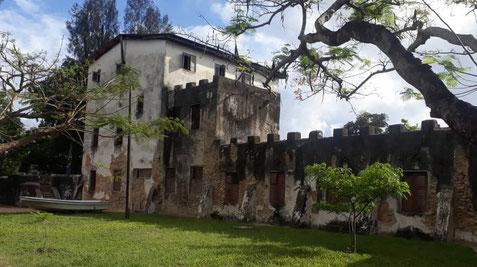 Bagamoyo altes Fort